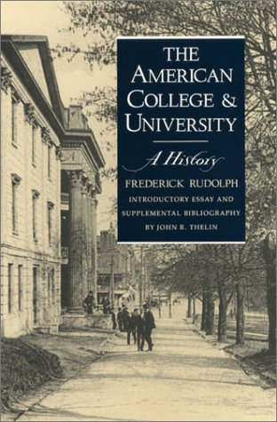 American College and University A History  1990 edition cover