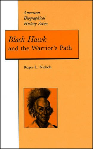 Black Hawk and the Warrior's Path   1992 edition cover