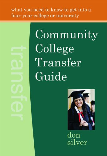 Community College Transfer Guide   2009 edition cover