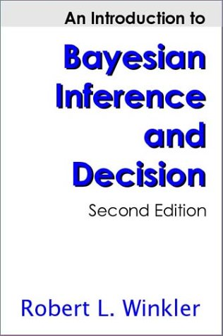 Introduction to Bayesian Inference and Decision  2nd 2003 edition cover