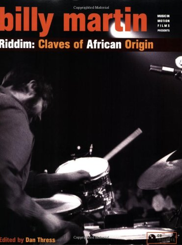 Riddim Claves of Africa Origin  2008 edition cover