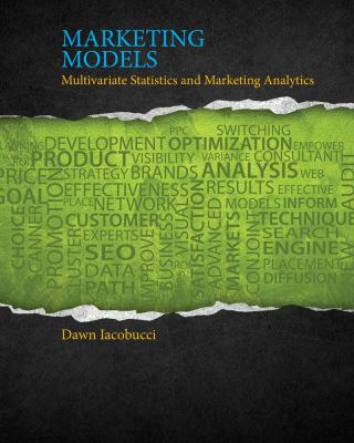Marketing Models   2013 9781111525842 Front Cover