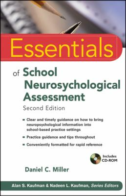 Essentials of School Neuropsychological Assessment  2nd 2013 edition cover