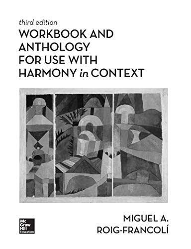 Anthology for Use With Harmony in Context:   2019 9781260153842 Front Cover