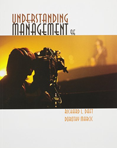 UNDERSTANDING MANAGEMENT-W/ACCESS       N/A 9781305595842 Front Cover