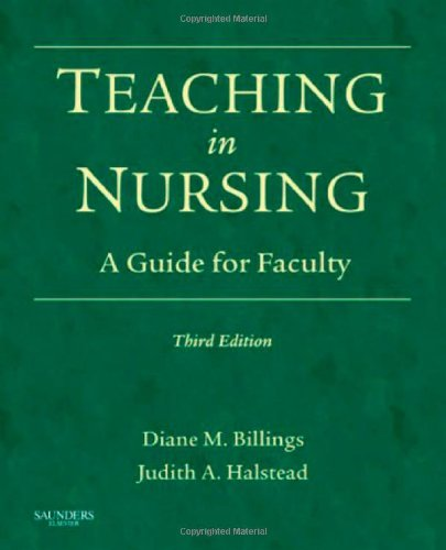 Teaching in Nursing A Guide for Faculty 3rd 2008 edition cover