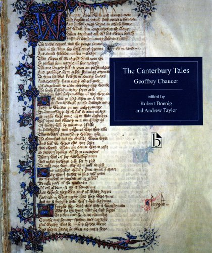 The Canterbury Tales:  2008 edition cover