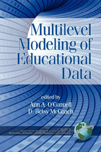 Multilevel Modeling of Educational Data   2008 edition cover