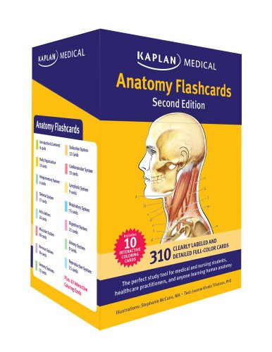 Anatomy Flashcards  2nd edition cover