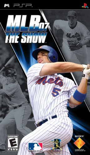 MLB 07: The Show - Sony PSP Sony PSP artwork