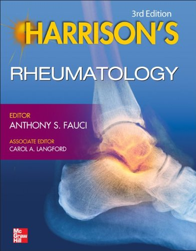 Harrison's Rheumatology:   2013 edition cover