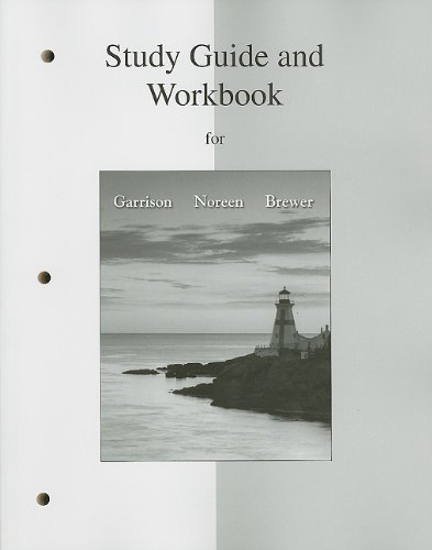 Student Workbook/Study Guide for Managerial Accounting  14th 2012 edition cover