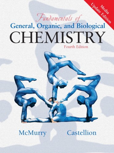 Fundamentals of General, Organic and Biological Chemistry  4th 2006 (Revised) edition cover