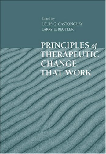 Principles of Therapeutic Change That Work   2005 edition cover