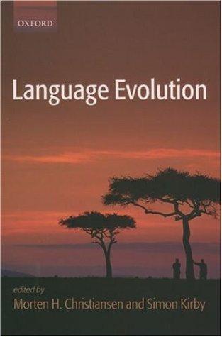 Language Evolution   2003 edition cover