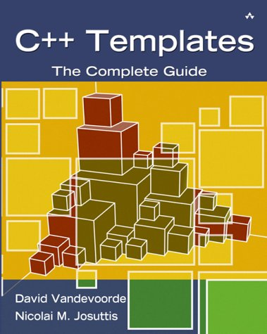 C++ Templates The Complete Guide  2003 edition cover