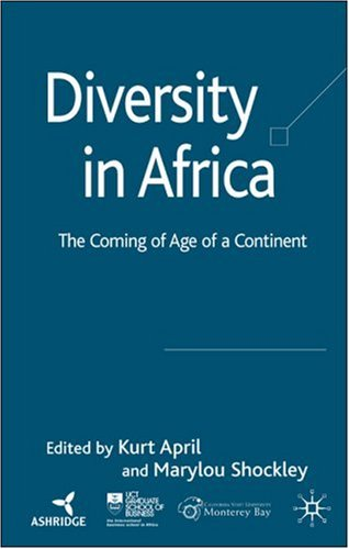 Diversity in Africa The Coming of Age of a Continent  2007 9780230006843 Front Cover