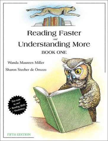 Reading Faster and Understanding More  5th 2001 (Revised) 9780321045843 Front Cover