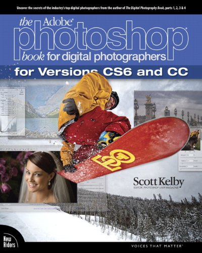 Adobe Photoshop Book for Digital Photographers   2013 edition cover