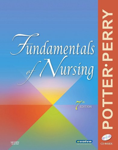 Fundamentals of Nursing  7th 2009 edition cover