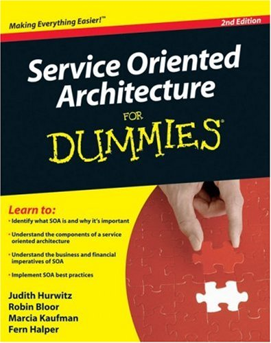 Service Oriented Architecture for Dummies  2nd 2009 edition cover
