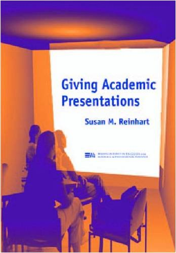 Giving Academic Presentations   2002 9780472088843 Front Cover