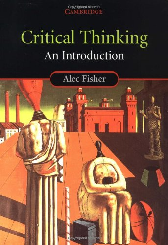 Critical Thinking An Introduction  2001 edition cover