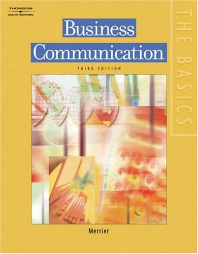 Business Communication  3rd 2006 (Revised) edition cover