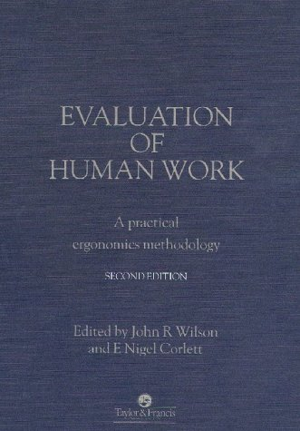 Evaluation of Human Work  2nd 1995 (Revised) 9780748400843 Front Cover