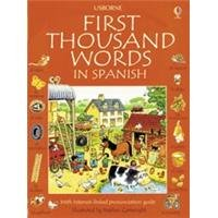 First Thousand Words in Spanish IL   2003 (Revised) edition cover