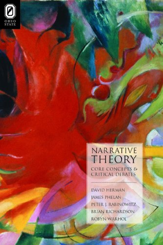 Narrative Theory Core Concepts and Critical Debates  2012 edition cover