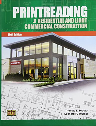Printreading for Residential and Light Commercial Construction  6th 2016 edition cover