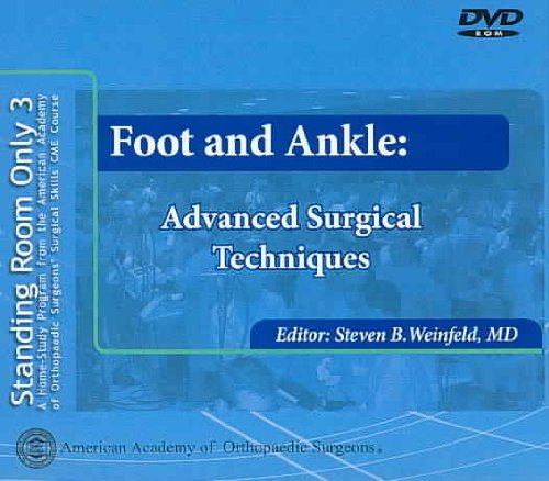 Foot And Ankle: Advanced Surgical Techniques  2006 edition cover