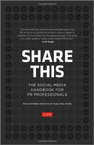 Share This The Social Media Handbook for PR Professionals  2012 9781118404843 Front Cover