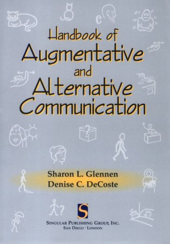 Handbook of Augmentative and Alternative Communication   1997 edition cover