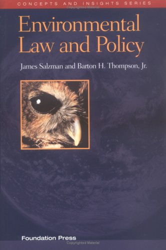 Environmental Law   2003 edition cover