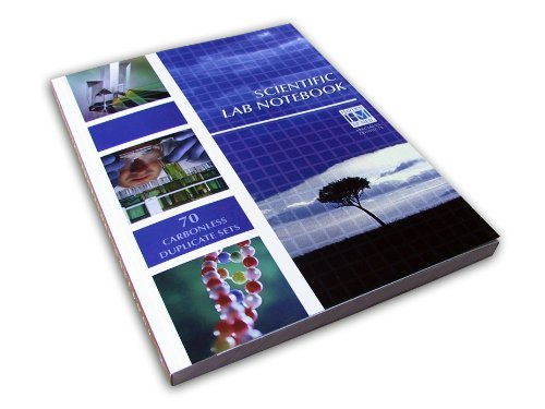 Scientific Lab Notebook 1st edition cover