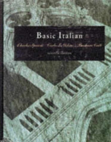 Basic Italian (with Audio Tape)  7th 1993 (Revised) 9780030074844 Front Cover