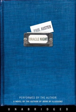 Oracle Night Unabridged 9780060589844 Front Cover