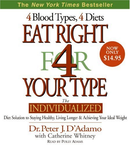 Eat Right for Your Type:  2008 edition cover