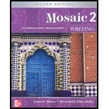 Mosaic - Writing, Level 2 Academic Essay Development 5th 2007 edition cover