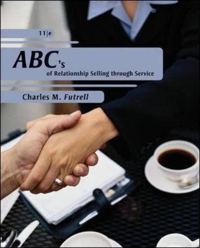 ABCs of Relationship Selling  11th 2011 edition cover