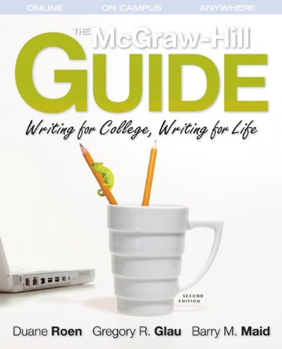 Writing for College, Writing for Life  2nd 2011 (Student Manual, Study Guide, etc.) edition cover