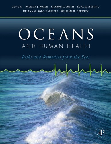 Oceans and Human Health Risks and Remedies from the Seas  2008 edition cover