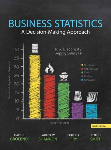 Business Statistics:   2013 9780133021844 Front Cover
