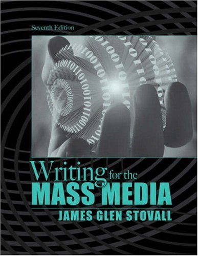 Writing for the Mass Media  7th 2009 edition cover