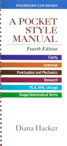 Pocket-Style Manual 4th 2004 edition cover