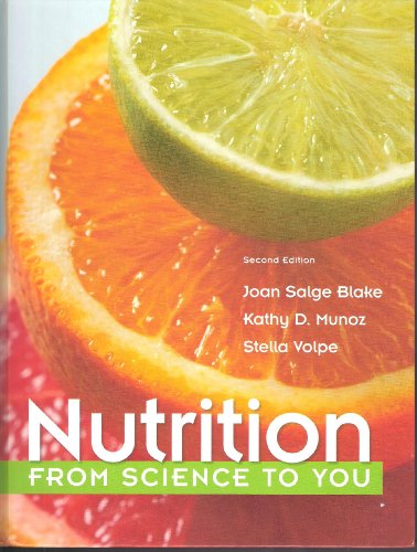 Nutrition From Science to You 2nd 2014 edition cover