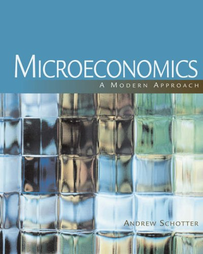 Microeconomics A Modern Approach  2009 edition cover