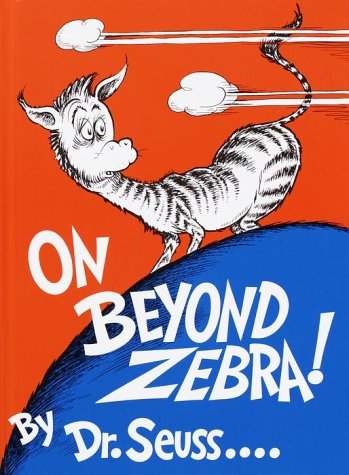 On Beyond Zebra!  N/A edition cover